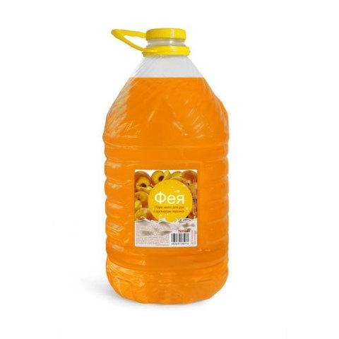 Жидкое мыло Фея 5л Персик
