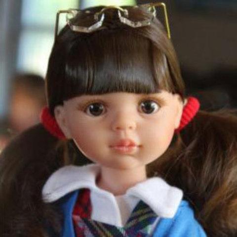 Кукла Кэрол школьница 32 см Paola Reina (Паола Рейна) 04615Х