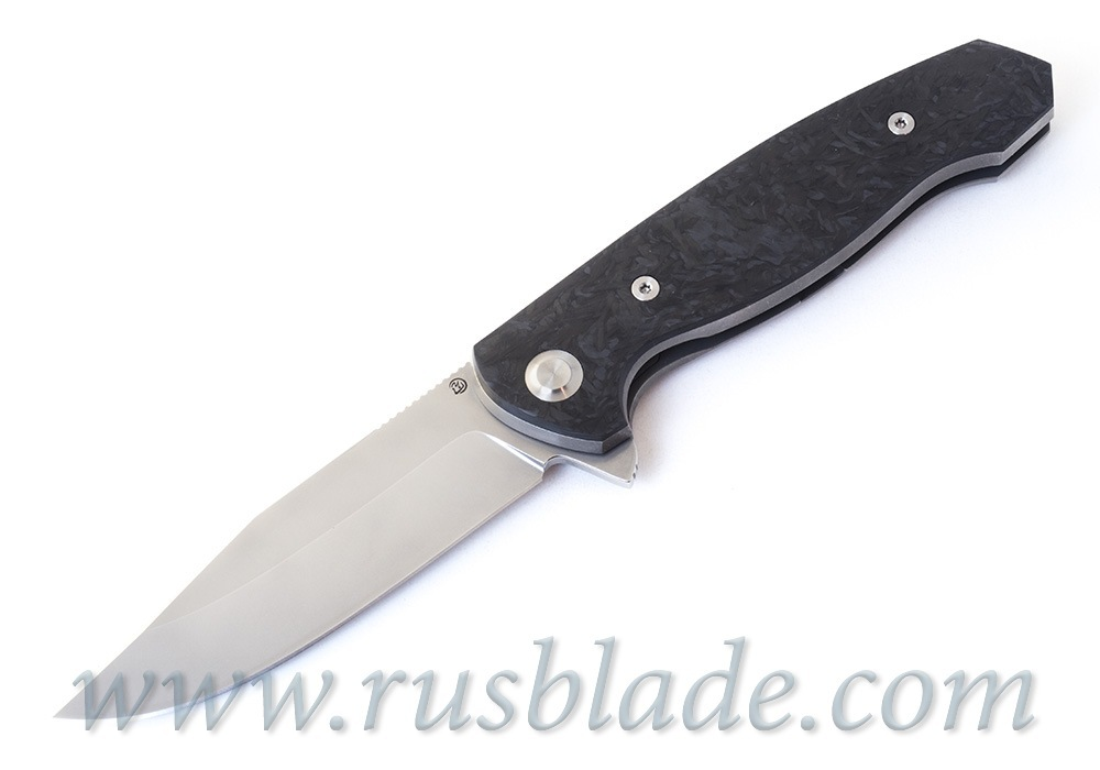 Cheburkov Wolf 2019 M390 Titanium and CF Folding Knife