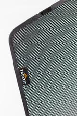 Каркасные автошторки на магнитах для ACURA TLX (2014+). Комплект на передние двери с вырезами под курение с 2 сторон