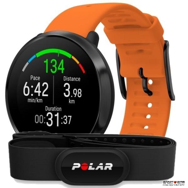 Polar Ignite Black Orange HR
