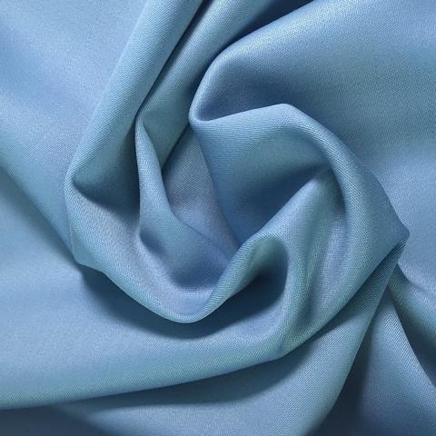 Ткань костюмно-плательная ткань цвет голубой 3216