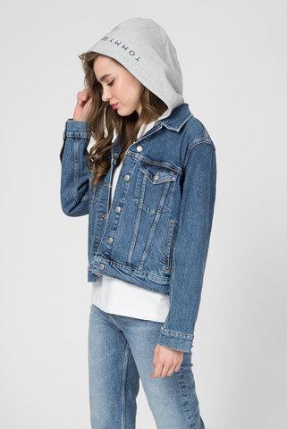 Женская синяя джинсовая куртка VERONICA JKT SARA Tommy Hilfiger