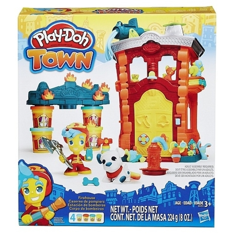 Play Doh Town Firehouse