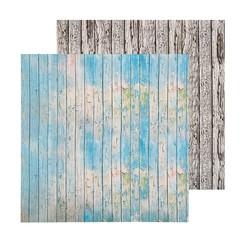 Фотофон двусторонний «Доски окрашенные»
