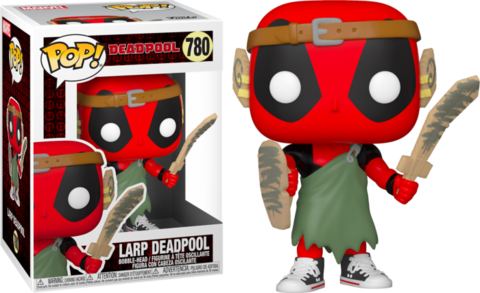 Фигурка Funko Pop! Marvel: Deadpool - LARP Deadpool