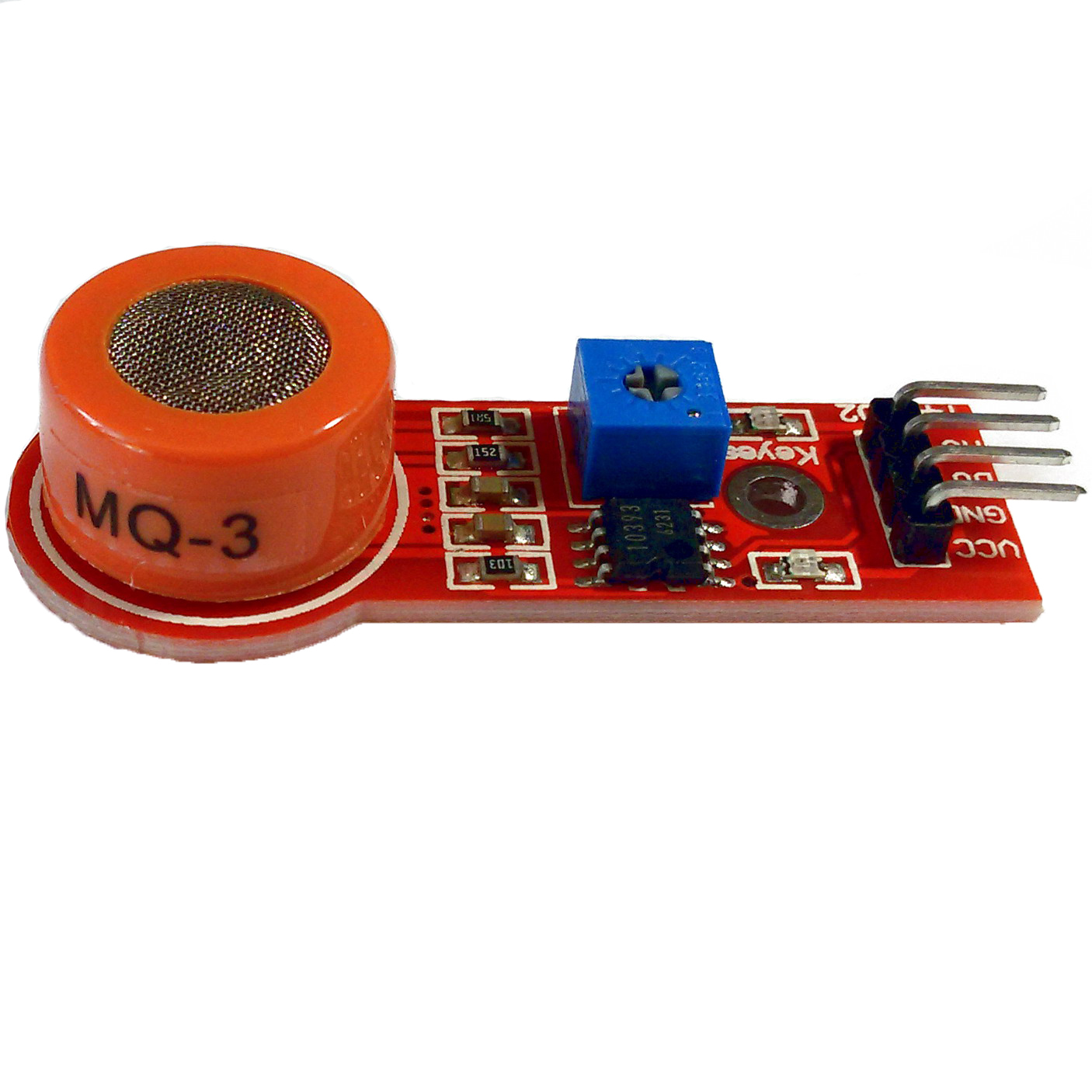 Модуль датчика паров спирта MQ-3
