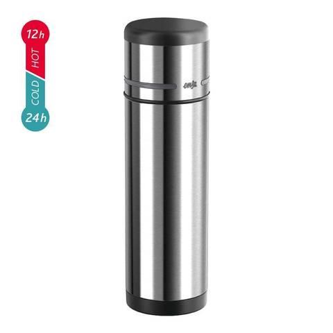 Термос Emsa Mobility (0,7 литра), черный/стальной