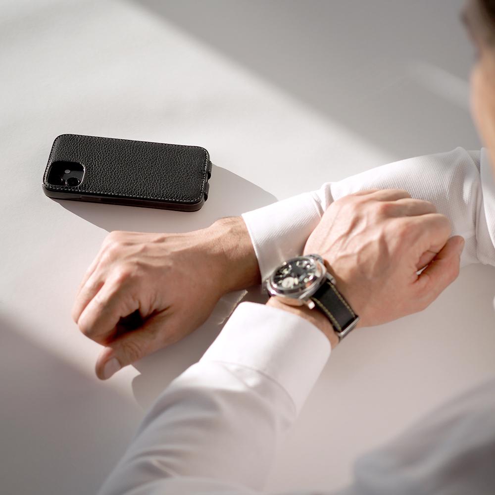 Case for iPhone 12 & 12 Pro - black mat