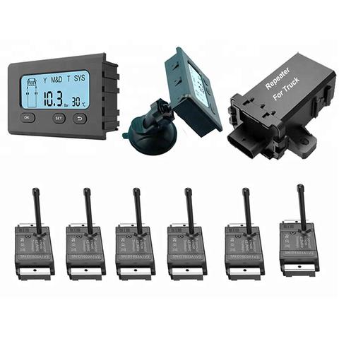 Система контроля давления в шинах TD20D с внутренними датчиками для грузовиков, автобусов, прицепов (до 18 колес). ИНТЕРФЕЙС RS232/CAN