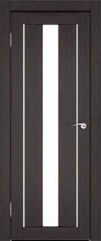 Дверь София (1С2М) (S-4) (венге, остекленная экошпон), фабрика Zadoor