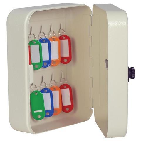 Шкаф для ключей Onix КМ-20 серый (на 20 ключей, металл)