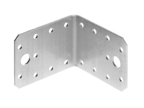 Уголок крепежный УК-2.0, 55х70х70 х 2мм, ЗУБР