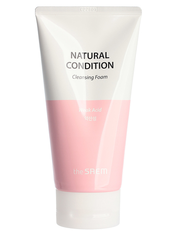 СМ Natural Condition Пенка для умывания очищающая Natural Condition Cleansing Foam [Weak Acid] 150мл
