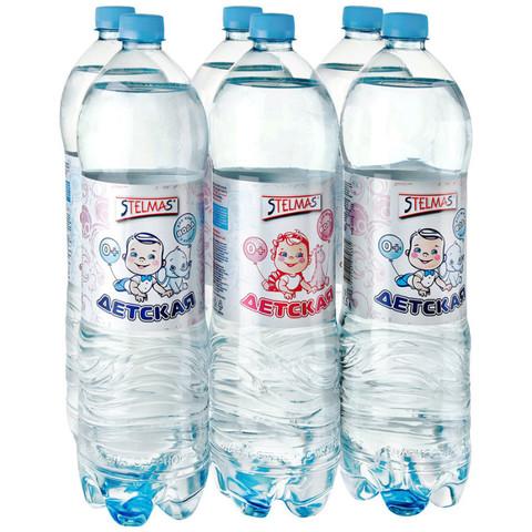 Минеральная Вода Stelmas Детская 1.5л