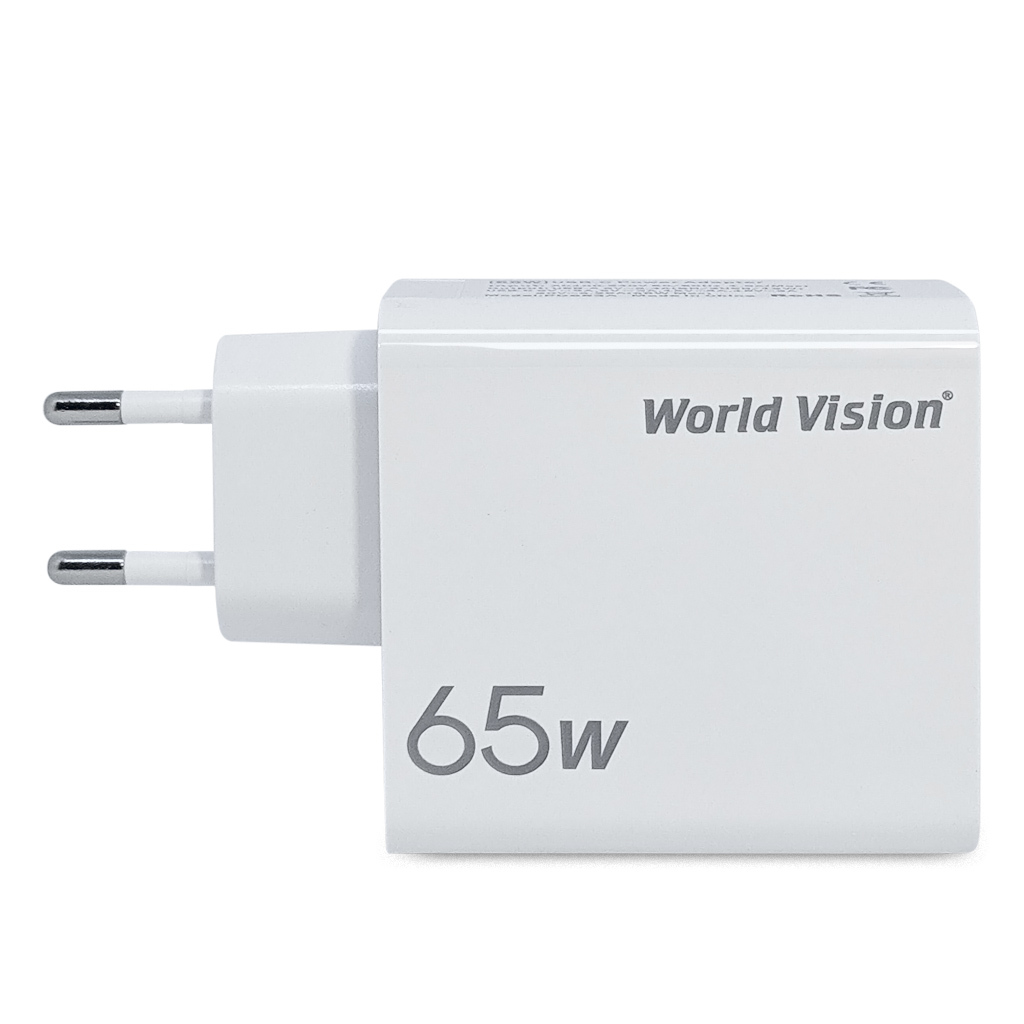 World Vision 65W PD Charger (PD653A)