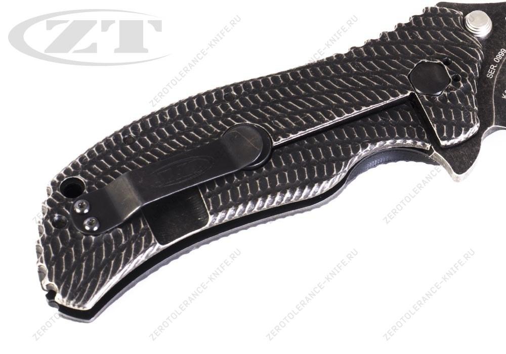 Нож Zero Tolerance 0300BW GEN1 Strider Onion - фотография
