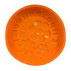 Форма для выпечки из силикона «С праздником!» 27,5х5 см