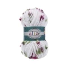 5071 (Белый, розовый,фуксия,мята)