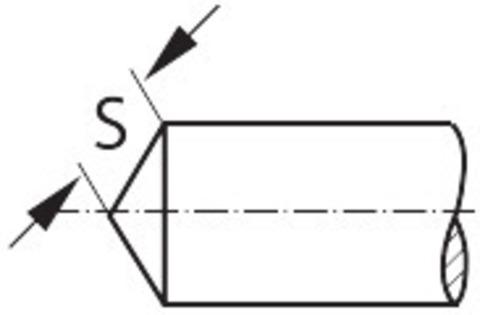 VHM Фрезы для удаления заусенцев 120° без покрытия