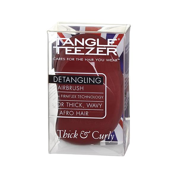 Расческа Tangle Teezer Thick & Curly Maroon Mood