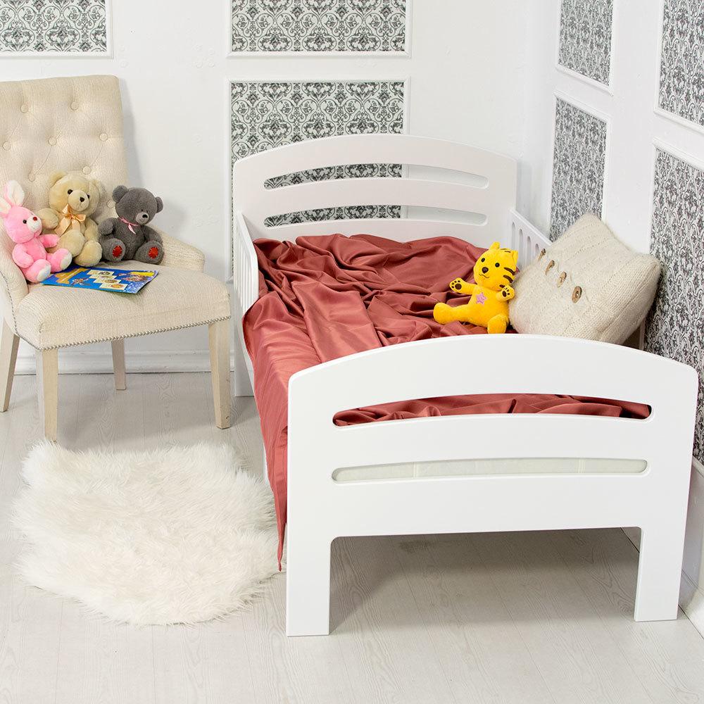 Кровать подростковая Лахта Белая