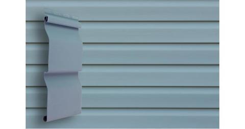 """Виниловый сайдинг Гранд Лайн корабельная доска 3.6 D 4,4"""" голубой"""