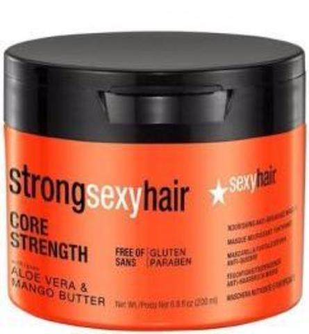 Sexy Hair Strong Маска восстанавливающая для прочности волос 200 мл
