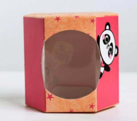 060-0002 Бонбоньерка «Няшка», 8 × 7.5 × 6 см