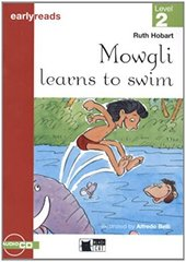 Mowgli Learns To Swim Bk +D (Engl)