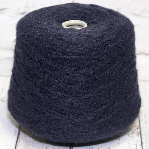 Смесовка с альпакой FASHION MILL / NEVE 2600 синий меланж