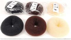 Купить пучок бублик валик для волос в интернет-магазине