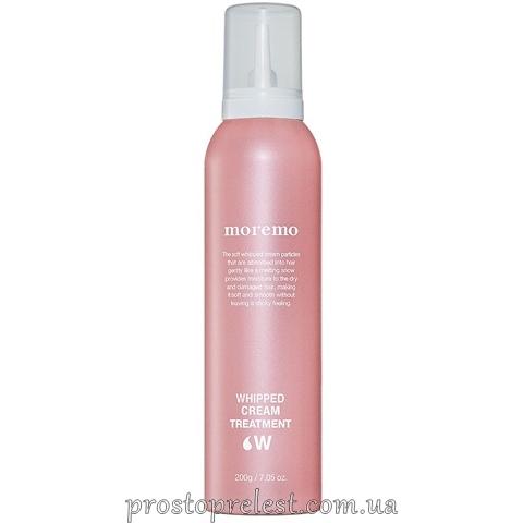 Moremo Whipped Cream Treatment W - Піна-догляд для волосся