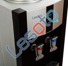 Кулер для воды LESOTO 16 L-C/E black-silver