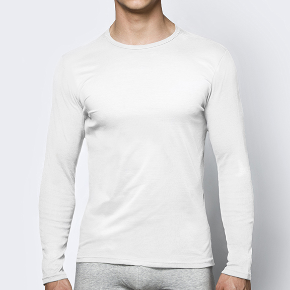 Футболка мужская с длинным рукавом Basic BMV-049 100% хлопок