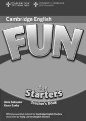 Fun for Starters 2nd Edition Teacher's Book
