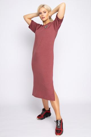 <p>Платье в стиле casual - прекрасное решение для повседневной жизни. В этом платье вы будете выглядеть на высшем уровне, но и чувствовать себя комфортно. (Длины: 44-110см; 46-110см; 48-113см; 50-115см)</p>