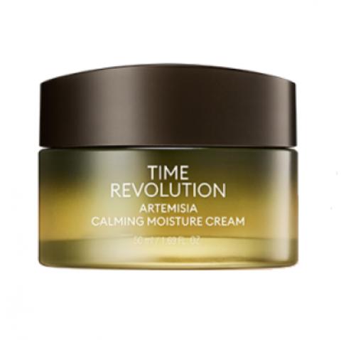 Missha Time Revolution Artemisia Calming Moisture Cream успокаивающий крем для лица