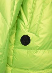 Куртка пуховая Naumi 1160 neon-lemon