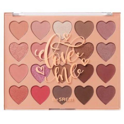 Палетка теней для глаз СМ EYE Love Me Shadow Palette 1,5 гр*20