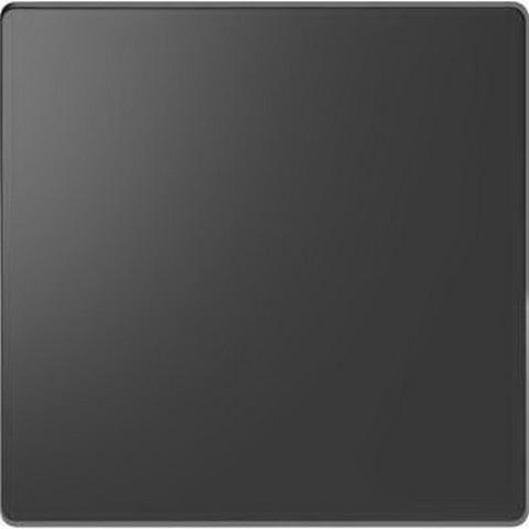 Выключатель одноклавишный проходной. Цвет Антрацит. Merten D-Life System Design. MTN3116-0000+MTN3300-6034