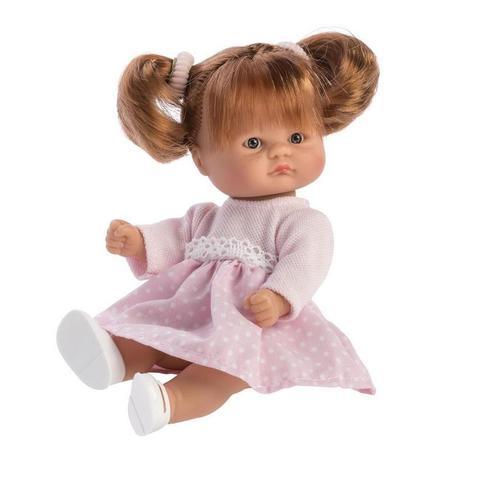 ASI. Кукла-пупс, 20 см в розовом платье