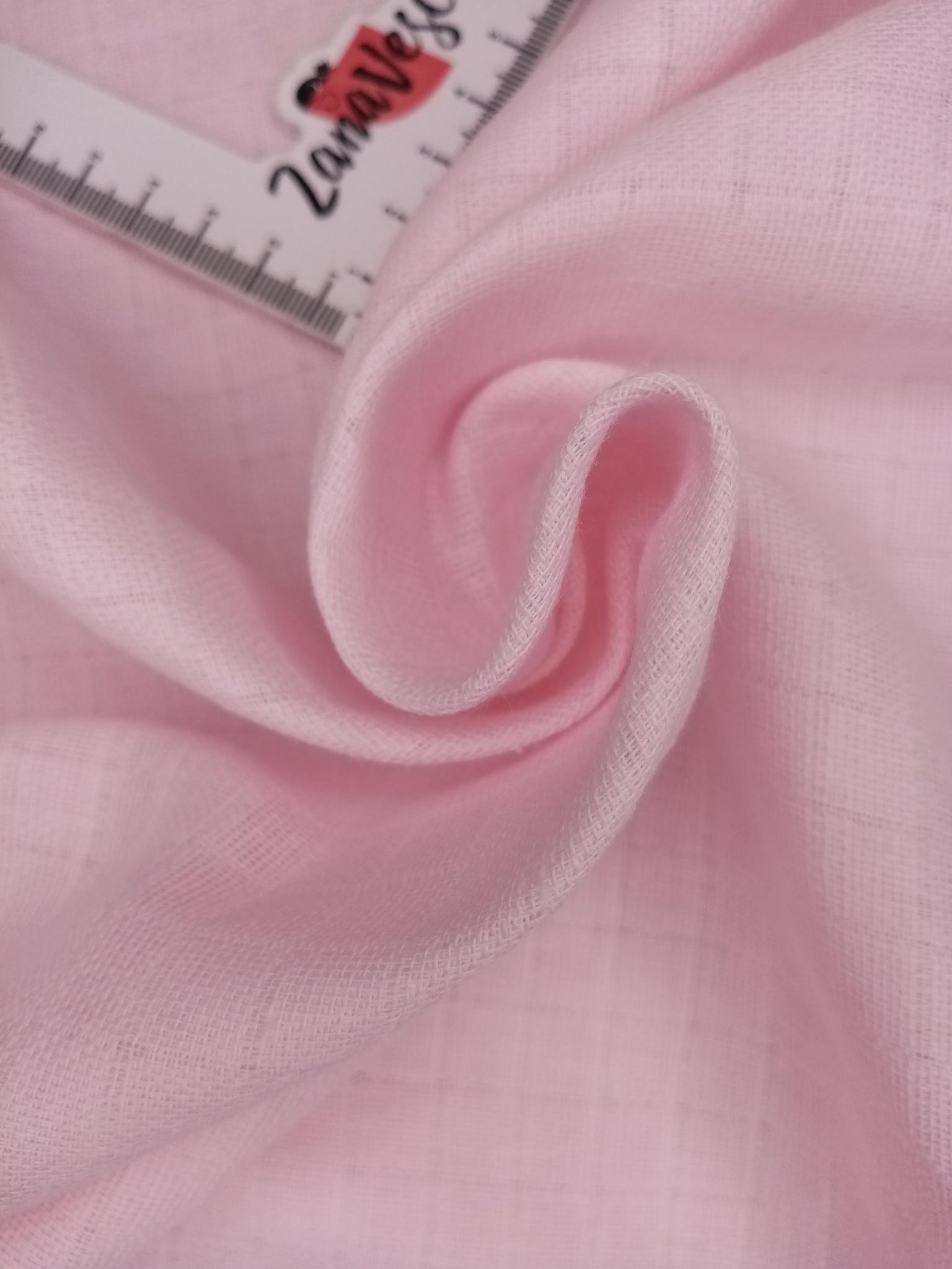 Муслин двухслойный Розовый