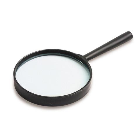 Лупа Attache диаметр 90 мм кратность увеличения 5 черная