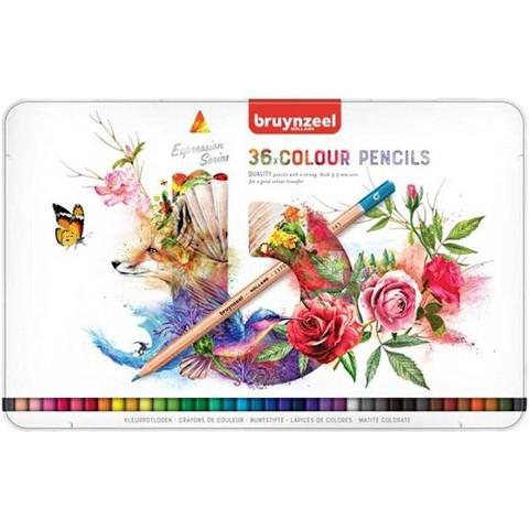 Набор из 36 цветных карандашей Bruynzeel Expression Colour