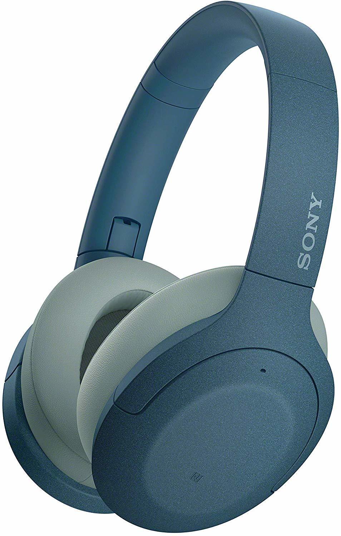WH-H910NL беспроводные наушники Sony, цвет синий