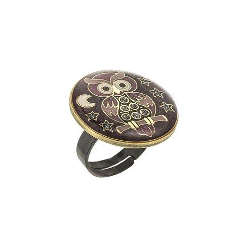 Кольцо Сова K27957-7 V