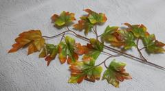 Кленовые листья на ветке, 55*30 см.