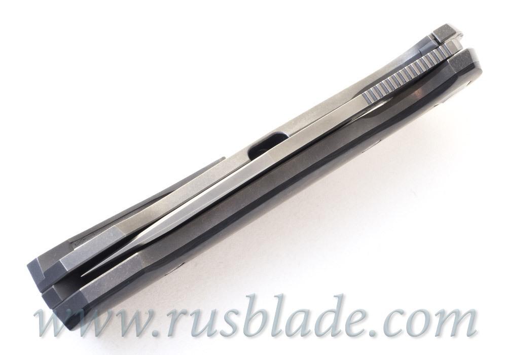 Cheburkov Wolf 2019 M390 Titanium and CF Folding Knife - фотография