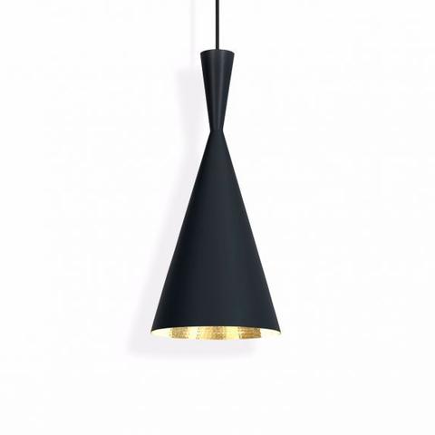 Подвесной светильник копия Beat Light Tall by Tom Dixon (черный)
